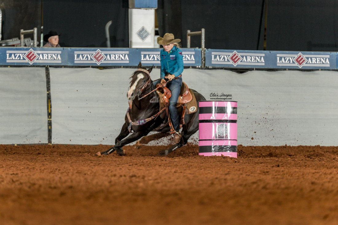 RDC Django Unreined 2nd Go of the Pink Buckle Futurity