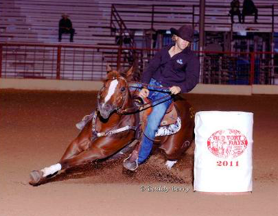 Pete and Famous Blue Eyes Place 5th and 9th at Old Fort Futurity Days!