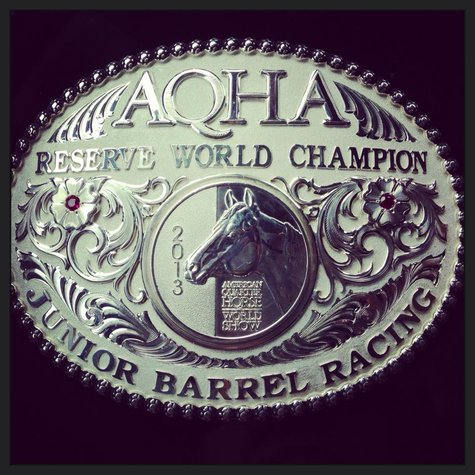 Well now that all the dust has settled.... Strait Dallas Fuel is the 2013 AQHA Reserve World Champion Jr Barrel Racer!