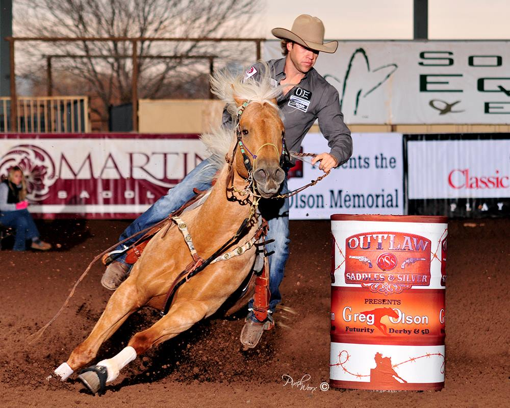 Peaches Takin Cash by #Frenchmansaceofspade owned by Keith&Susie Taylor Moran, 5th in the round today out of 160 head at the Greg Olson Barrel Futurity for nearly $1,600.00!