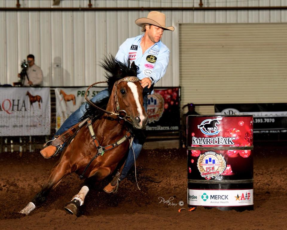 Perksof Being Famous is the Better Barrel Race World Finals Futurity Average Champion!!!