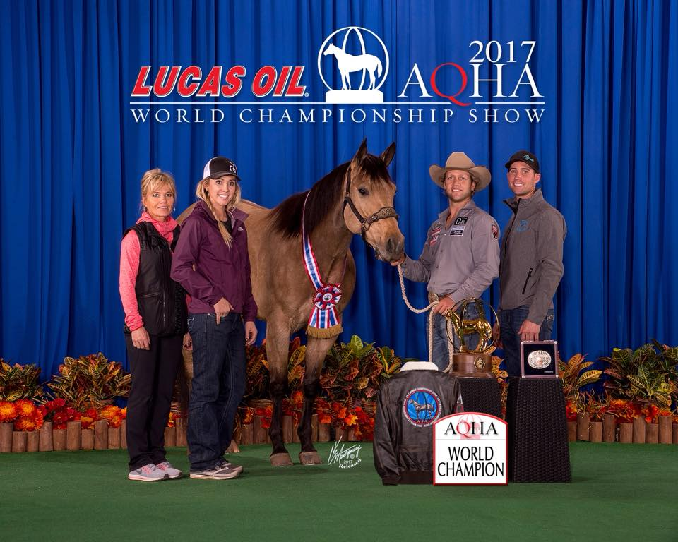 AQHA World Show win pic! What an amazing year Stella and I had! She's one I will never forget...