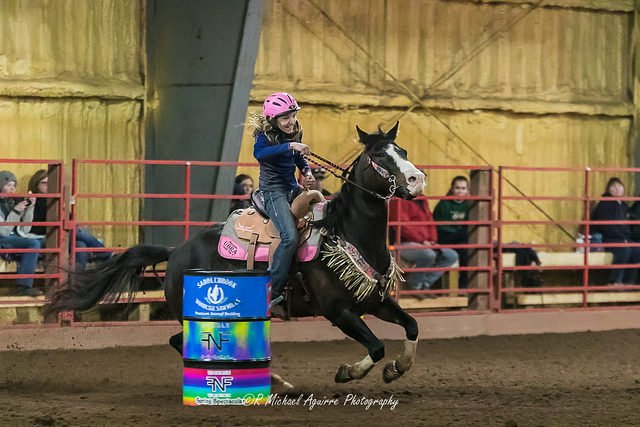Trinity & Miley 14.351 Double F Arena April 27, 2019 - fast time of the day!