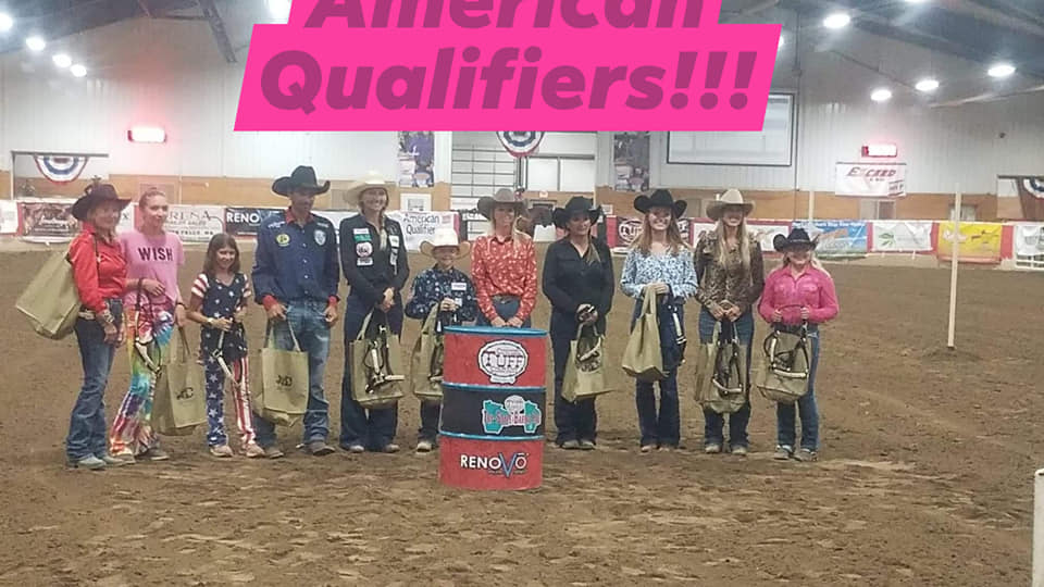 Trinity and Miley Qualify for the RFDTV American!!!