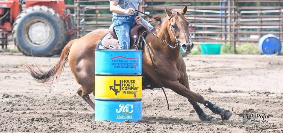 Dash a Red - HHC barrel racing!