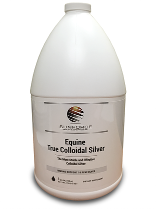 True Colloidal Silver (horse care)