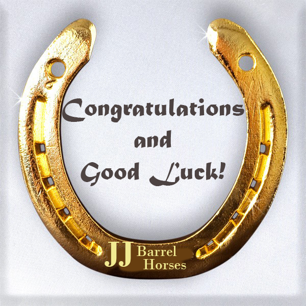 Congatulations and Thank You to Jessica and Johnny Asher on the purchase of Barts Blu Jeans.  Watch for Cayla Small and Blu at the 2018 Futurities.