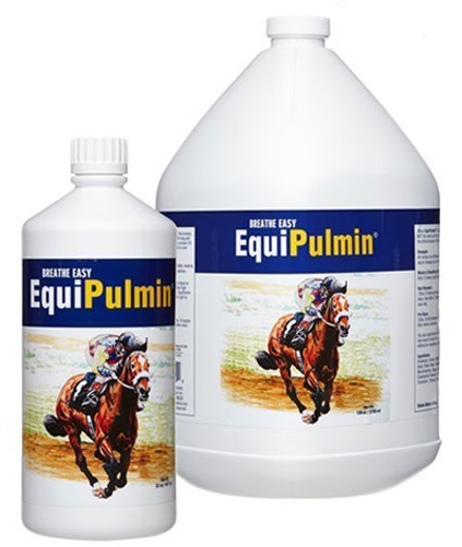 We use, stock and sell Equipulmin as well as Zesterra, Iconoclast Sports Boots and Zestarra.  Jo usually has them with when she travels and you can order from Performance Horse Shop.