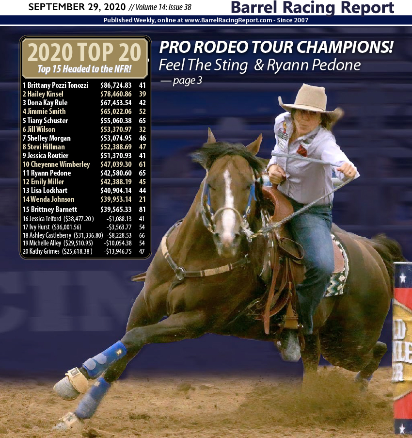 Do Or Die -- Ryann Pedone & Feel The Sting Win ProTour Finale, Earn NFR Berth