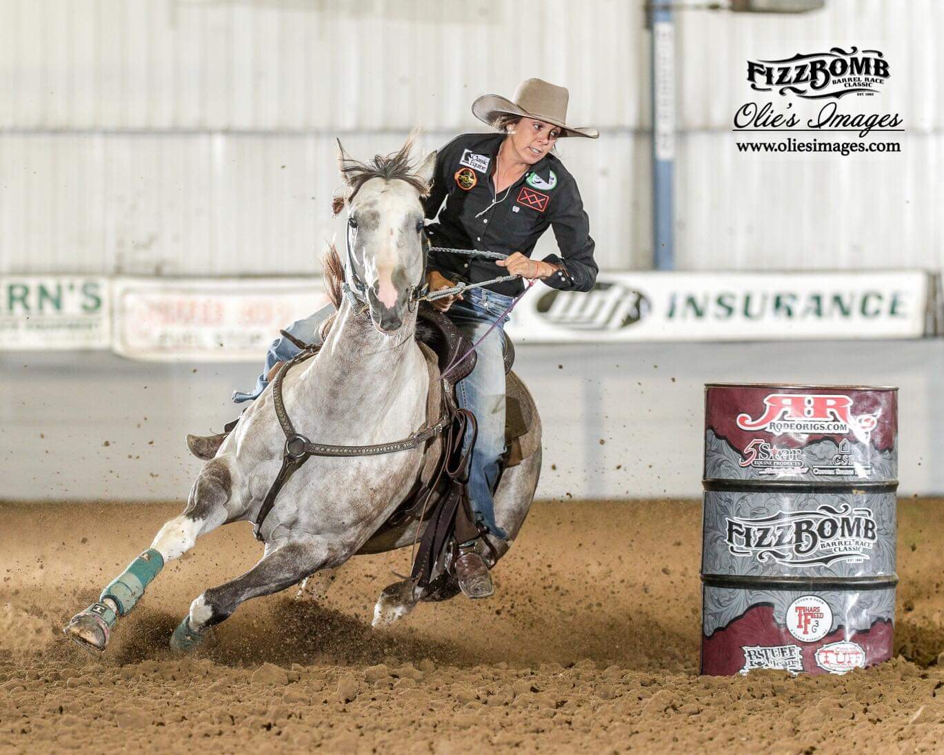 Dash Ta Fire Canyon at the Fizz Bomb Futurity 2nd Go 15.295