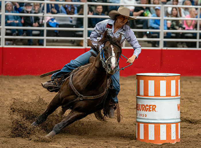 WPRA Feature ~ Pedone Shoots To Early Lead at San Antonio