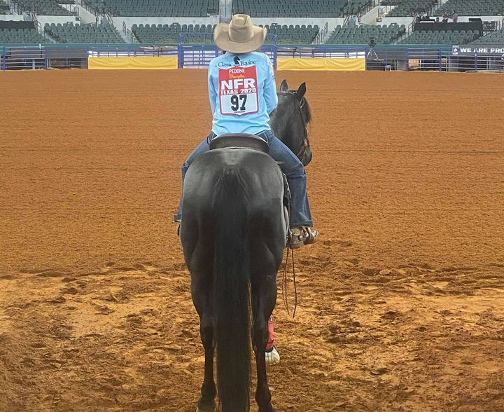 Jackson get the call for the NFR Grand Entry