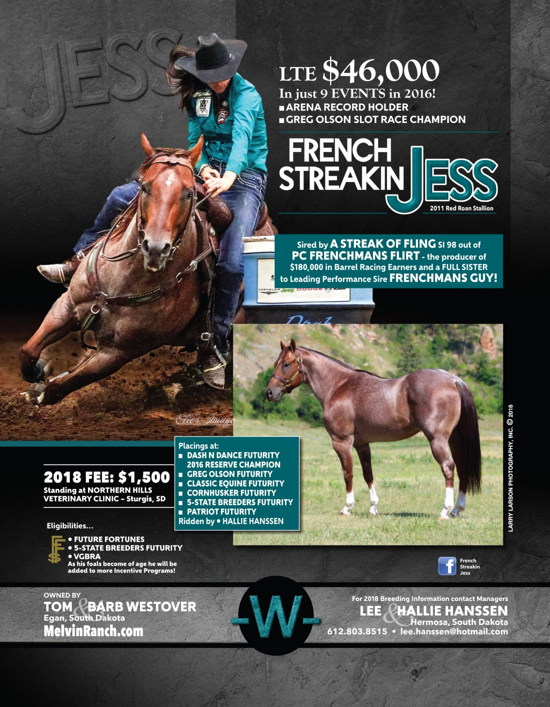 FRENCH STREAKIN JESS
