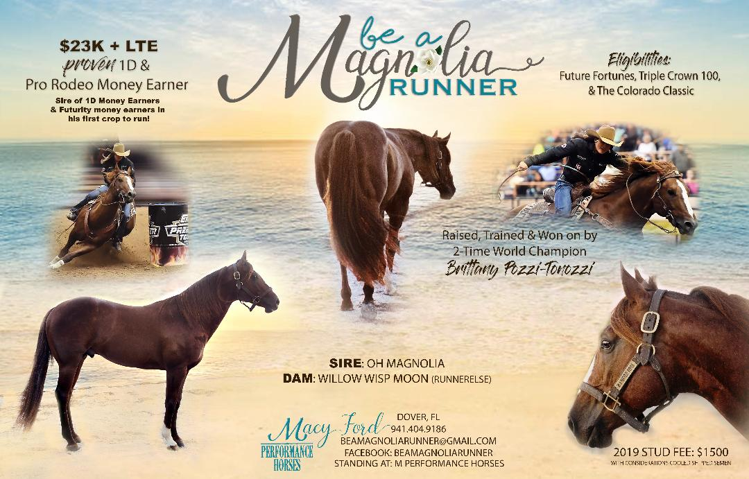 BE A MAGNOLIA RUNNER