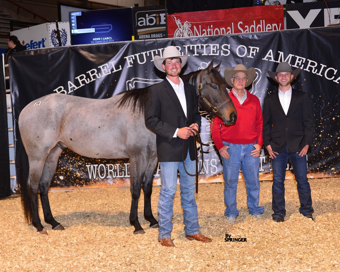 RNR Performance Horses tops the BFA World Championship Barrel Horse Sale for the second year in a row
