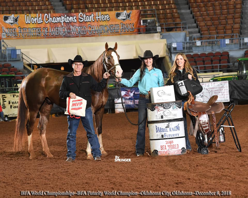 BFA Futurity Highlight Video Sponsored by R Barrel Horses.  Congratulations to Paige Jones 2018 BFA Futurity Champion!