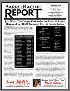 Thank You Dusti and Tracy Swan for allowing us to highlight a few horses from your weekly Barrel Racing Report.