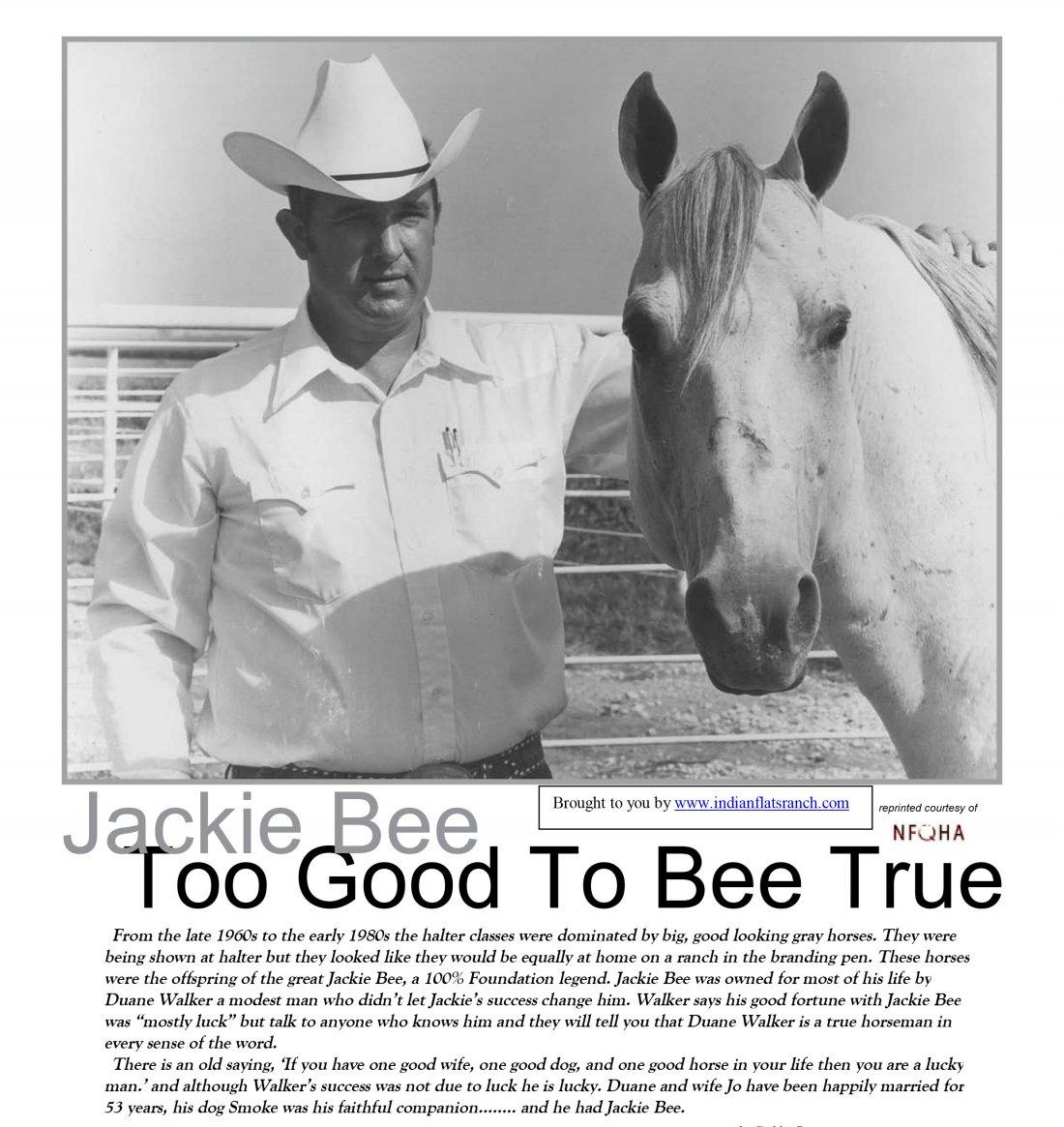 JACKIE BEE