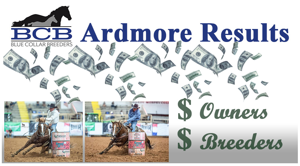 2020 Ardmore Blue Collar Breeders Sidepot Results