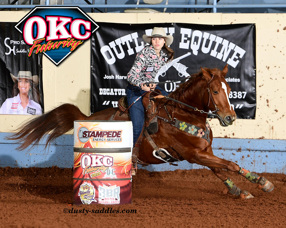 Congratulations to Skylar Eisenger and All Bugged Up by BCB Sire Famous Bugs on your 2020 OKC Hold Em Finals Win!  Four BCB babes make the top 10 list.