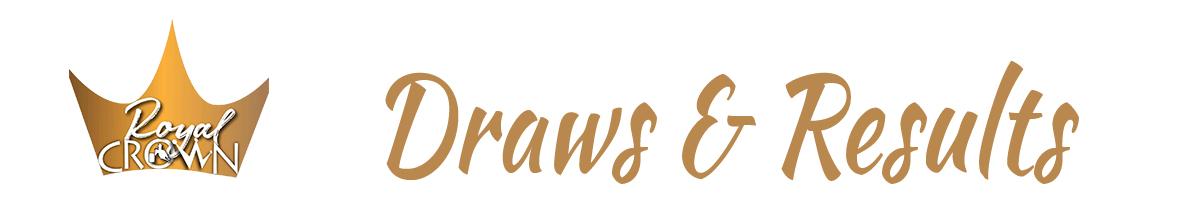 Royal Crown Race Draws/Results