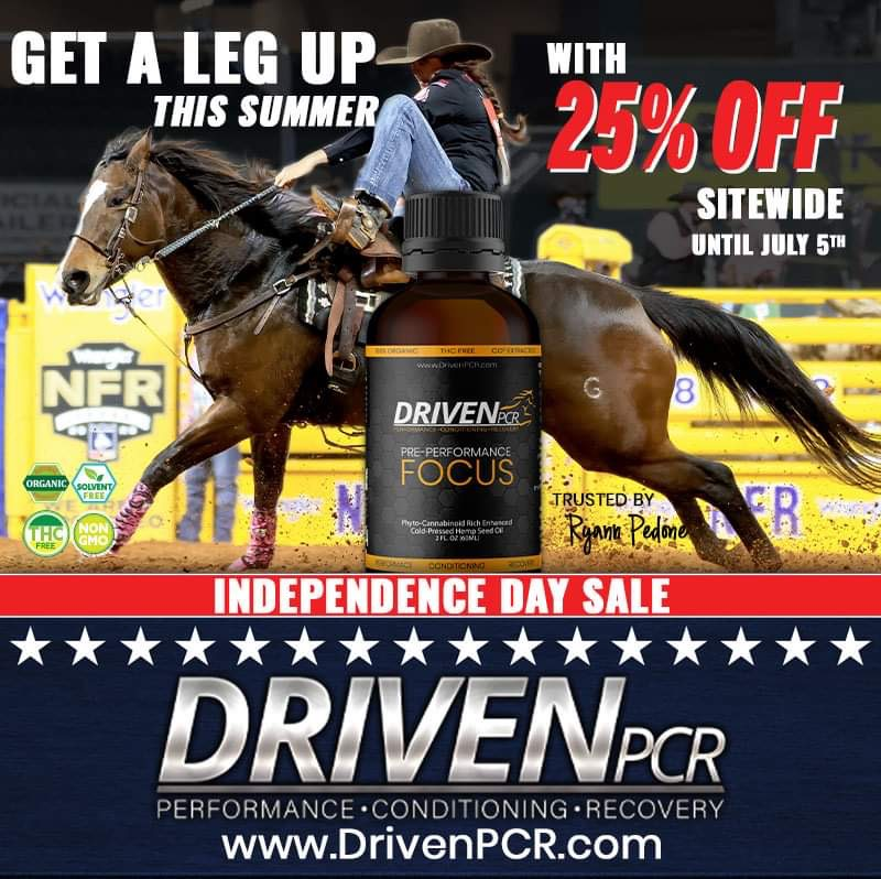 GET A LEG UP WITH SUMMER  25% OFF SITEWIDE UNTIL JULY 25, 2021  DrivenPCR.com  Code LEGUP